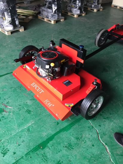 Two Blades Trail Lawn Mower for Garden Grass Cutting pictures & photos