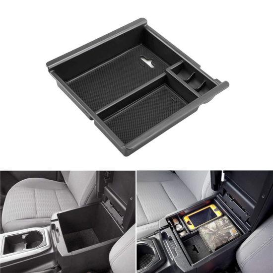 3 Interior Accessories Center Coin Tray Armrest Storage Box/Car Center Console Organizer Box
