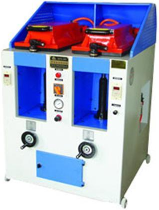 Shoe Making Machine/Abdouble Head Cover Type Manual Pressing Machine