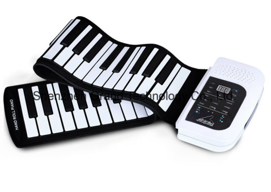 61 Keys Silicon Hand Roll up Piano (GPA-61) pictures & photos