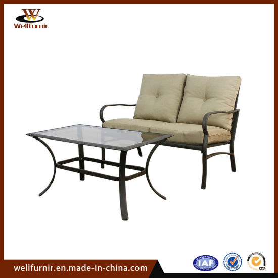 Well Furnir 1+3 Hotel Leisure Aluminum Outdoor Garden Furniture (WF-063404) pictures & photos