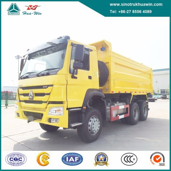 Sinotruk HOWO 6X4 10-Wheeler Heavy Duty 30 Tons Tipper Dump Truck for Stone and Sand
