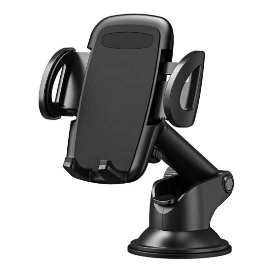 Universal Retractable Long Arm Dashboard Windshield Mount Car Phone Holder for Smartphones