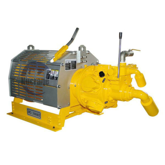 10ton Air Winch Ingersoll Rand Type Lifting Machine Air Cooling Engine Powered Winch