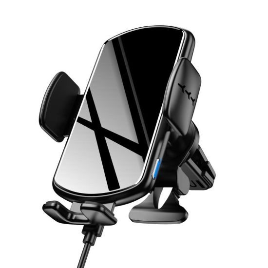 Newest 15W Automatic Clamping Car Mount Car Holder Wireless Charger