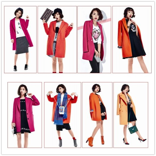 New Design Cotton Autumn and Winter Clothes Winter Coat for Women and Ladies pictures & photos