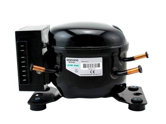 R134A R600A 12V/24V DC Refrigeration Compressor Qdzh35g