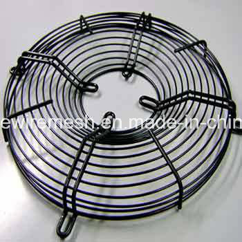 PVC Galvanized Chrome Welded Wire Axial/Exhaust Industrial Fan Grille Guard pictures & photos