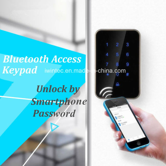 Bluetooth Smart Access Control Glass Door Lock