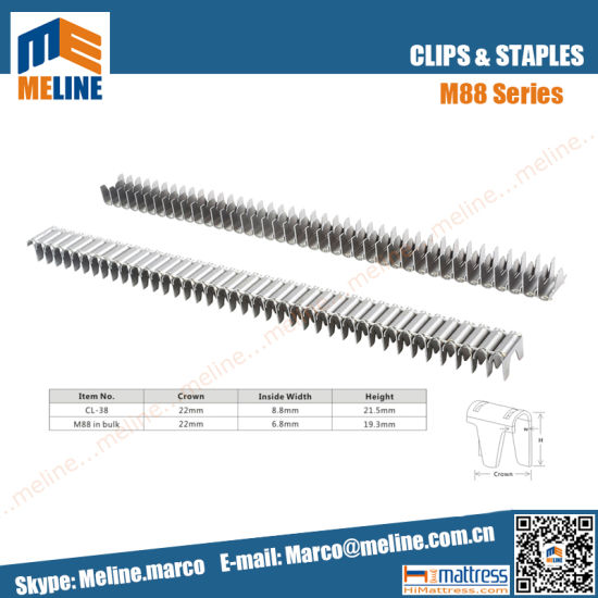 China Factory Best Price M88 Spring Frame Clips for Mattress/Sofa ...