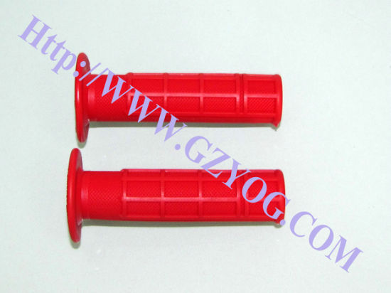 Yog Modified Motorcycle Spare Parts Handle Grips Red Blue Silver Chrome Multi Colors Decoration Parts pictures & photos
