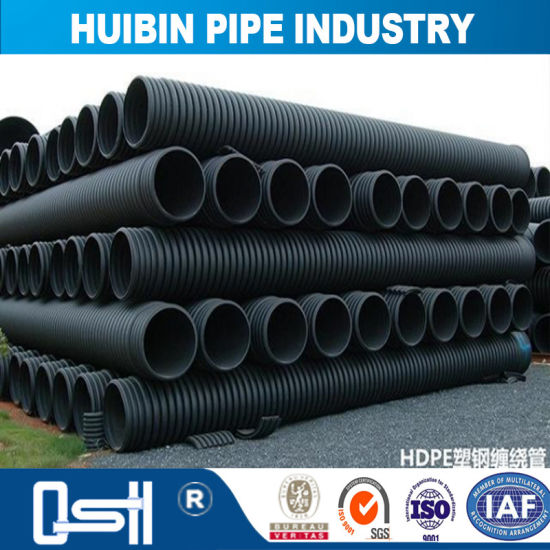 4 8 12 Inch Black Plastic Pipe Hdpe Double Wall Corrugated