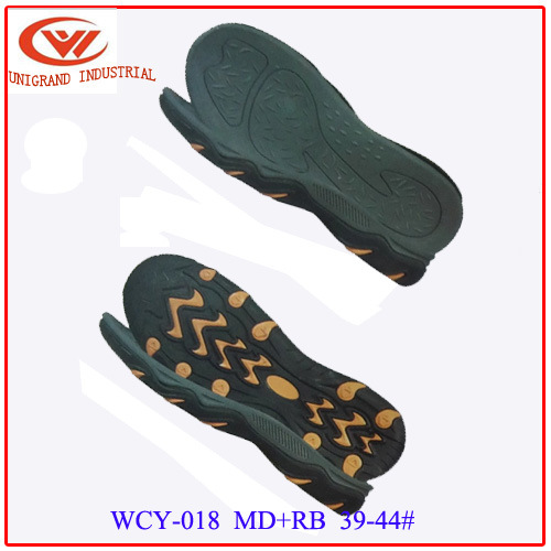 New Design Sandals Sole Fashion EVA Rb Outsole for Making Flip Flop Shoes