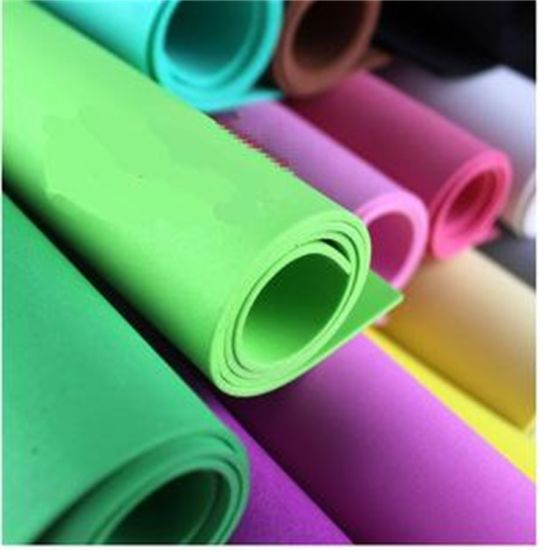 China Eco Friendly Color Craft Eva Foam Paper Diy Bubble Paper