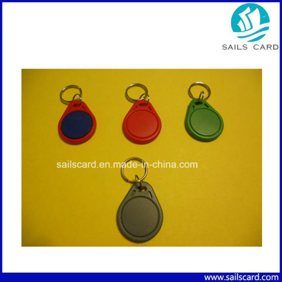 Waterproof RFID Keyfob with Lf/Hf Chips for Access Control pictures & photos