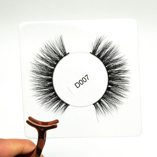 e4d5efd2857 Custom Eyelash Packaging OEM Mink Lashes Private Label Faux Mink Eyelashes
