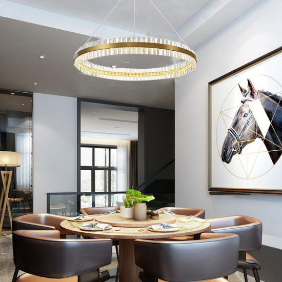 Postmodern Creative Nordic Luxury Chandelier Round Fashion Personality  Modern Designer Living Room Bedroom Dining Room Lamp