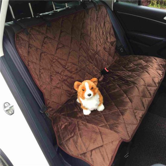 China Travel Pet Hammock Pet Car Seat Cover Dog Car Hammock