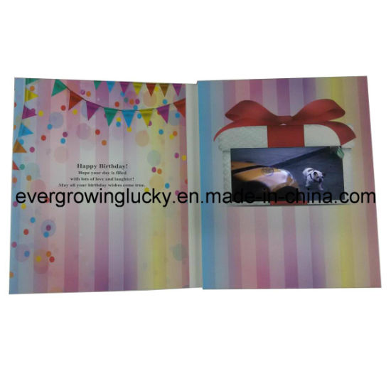 China 50inch Lcd Screen Video Brithday Card China Video Birthday