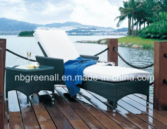 Rattan Furniture/Garden Furniture/Wicker Furniture/Outdoor Furniture/Chaise Lounger pictures & photos