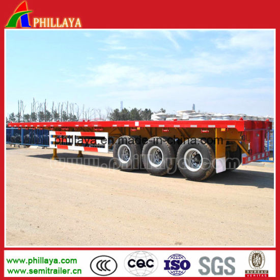 20-53FT Platform Interlink Trailer for Container Transport pictures & photos