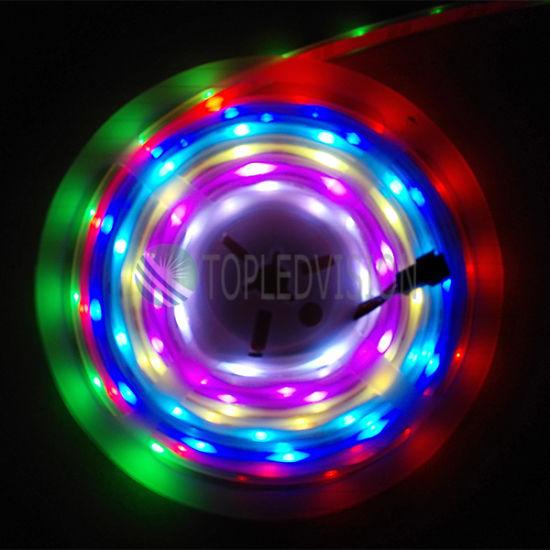 Digital Addressable RGB LED Strip 60LEDs 12V/24V DC Option