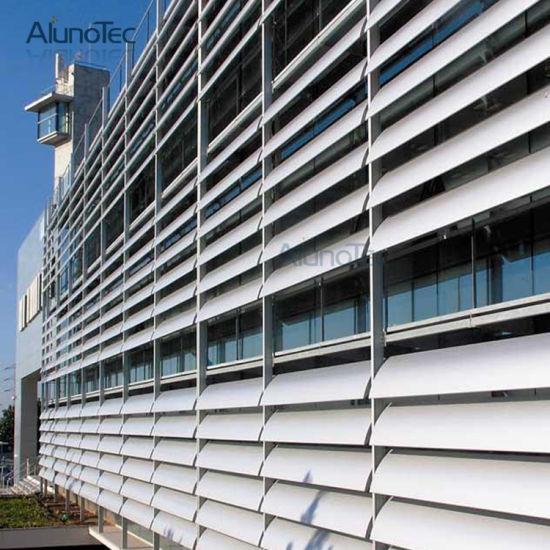 China Aerobrise Sun Louvres External Aluminum Louvers For