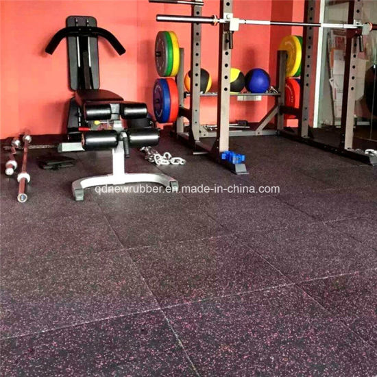 China Rubber Floor Tile For Gym Flooring Fitness Center China