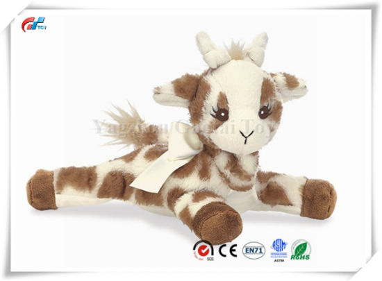 "8"" Baby Patches Stuffed Animal Giraffe Rattle Toy"