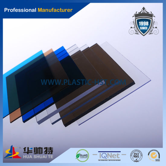 China Clear Lexan Polycarbonate Solid Sheet - China PC