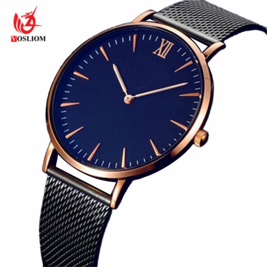 9d25f34da7 New Dw Style Men Luxury Watch Men′s Watches Stainless Steel Mesh Band  Quartz Wristwatch