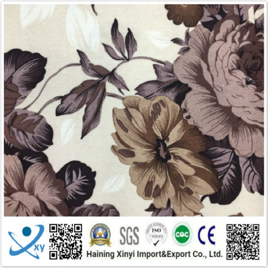 Printing Fabric Cashmere Like 100% Polyester Taslan Laminating Fabric Transparent TPU 3000/3000 Outdoor