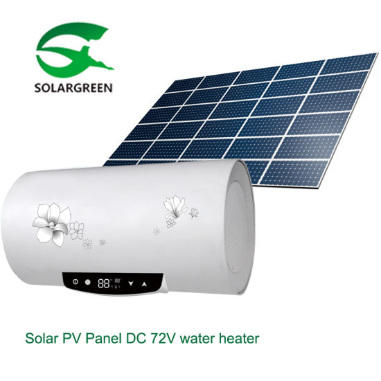 New-Generation 100% off Grid Solar PV DC Electrical Water Heater