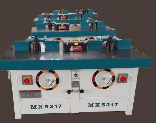 Mx5317 Double Spindle Wood Shaper Two Spindles Moulder for Home Furniture/ Shutter Door Cupboard pictures & photos