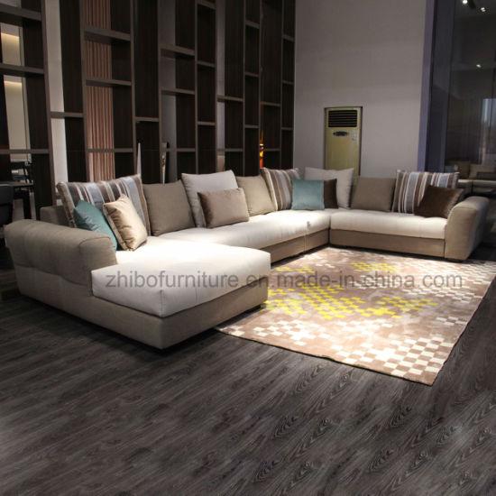 China Modern Design U Shape Fabric Sofa For Home Use - China Furniture Sofa Sets, Living Room Furniture