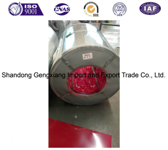 China Export to Vietnam Cold Rolled Color Coated Galvanized