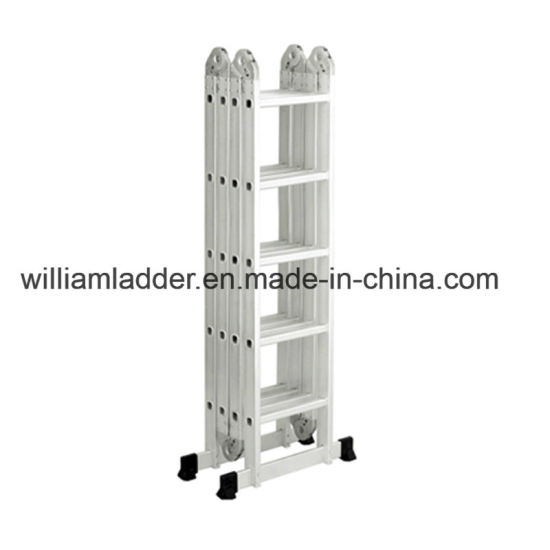 Charmant High Quality 5.8m Multi Purpose Ladder Aluminum Multifunctional Foldable  Stairs 4X5steps