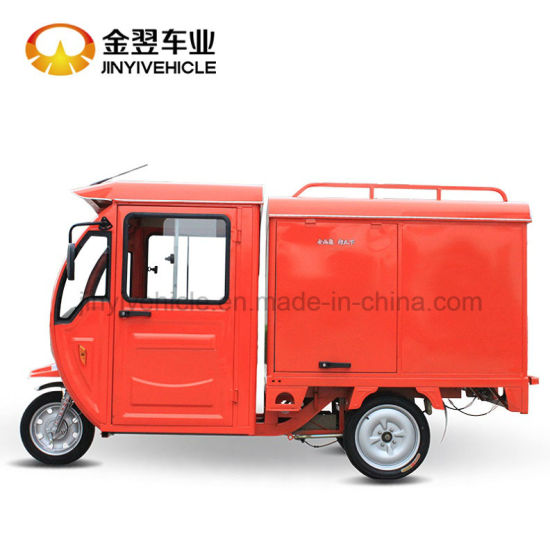 Express Electric Tricycle Postal Mail for Express Cargo Tricycle pictures & photos