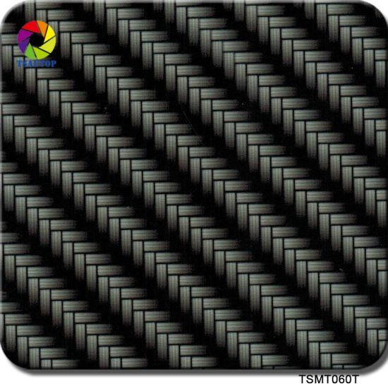 China Tsautop 0 5m Width Wire Woven Carbon Fiber Hydro Dipping Film