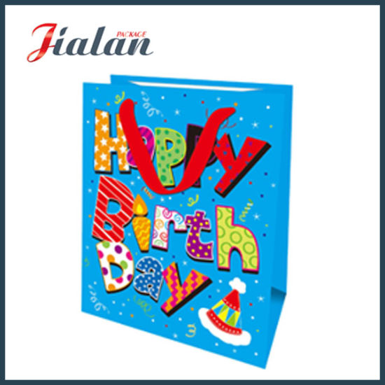 Sweet Design Happy Birthday Customize Logo Retail Paper Candy Bag pictures & photos