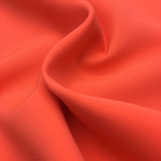 90%Polyester 10%Spandex 100d Double Layer Solid Twill Two Way Stretch Fabric