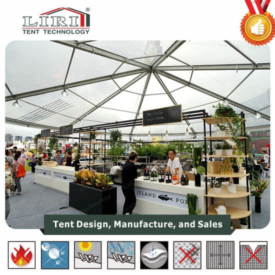 Aluminum Five Star High Peak Clear Tent Resort Tent Restaurant for 500 People & China Aluminum Five Star High Peak Clear Tent Resort Tent ...