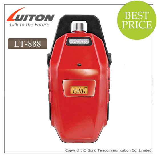 Small Size PMR446 Radio with Hirose Connector Luiton Lt-888 pictures & photos