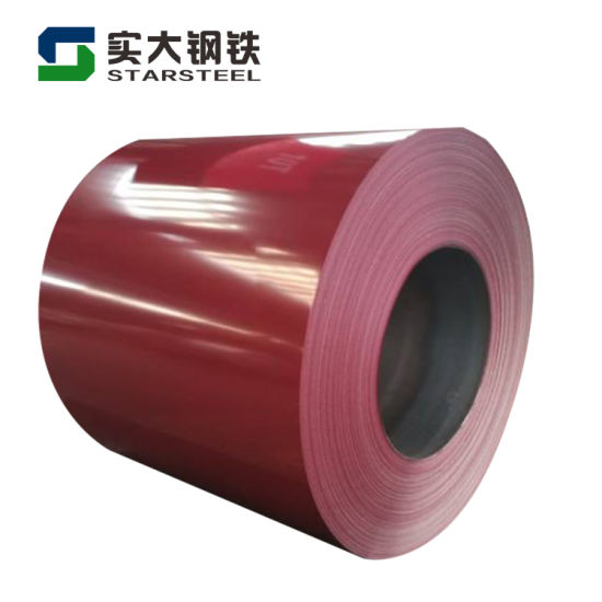 Color Coated Steel, Prepainted Galvanized/Galvalume Steel Coil (PPGI/PPGL) Made in China