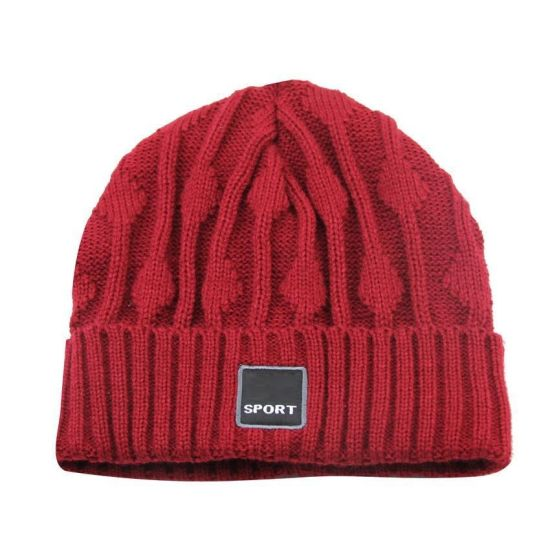 China 2017 New Hot Sale 100% Wool Knit Beanie Toque Hat - China ... d0d3488888c