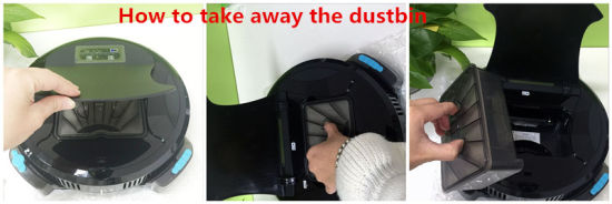 2015 New Robot Bagless Vacuum Cleaner for House pictures & photos
