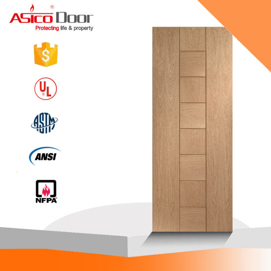 China Ul 10 C 1 12 Hour Fire Rated Wooden Door China 4 Panelled