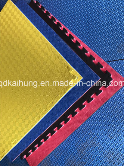 China Custom Top Quality EVA Gym Flooring Mat Tatami Judo
