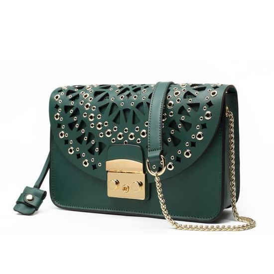 11e7a45419f China Factory Customzied Design Borsa Genuine Cowhide Handbag Leather Lady  Purse