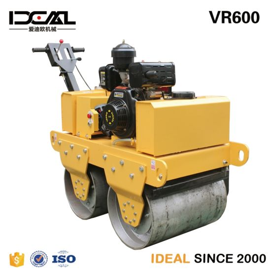 Gasoline/Diesel Road Rolling Machine Walk Behind Roller Compactor pictures & photos